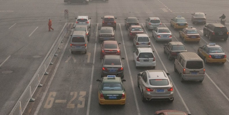 contaminación tráfico