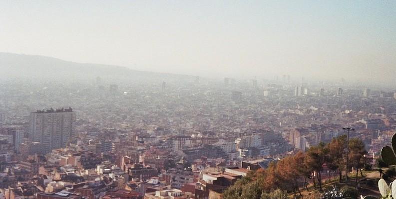 polucion barcelona